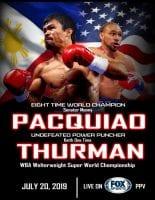 Boxing 2019 Pacquiao vs Thurman