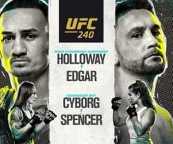 UFC 240 PPV