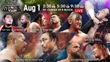 NJPW 2019 08 01 G1 Climax 29 Day 12