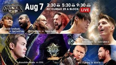 NJPW G1 Climax 29 07 08 2019 Day 15