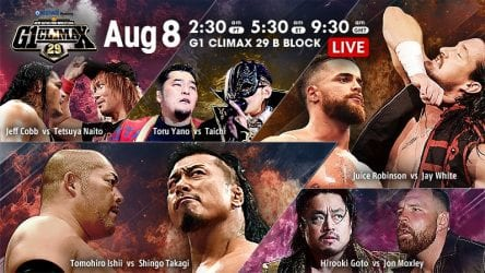 NJPW G1 Climax 29 08 08 2019 Day 16