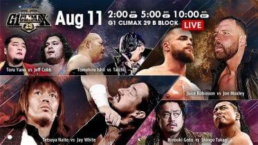 NJPW G1 Climax 29 11 08 2019 Day 18
