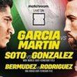 Boxing Garcia vs Martin