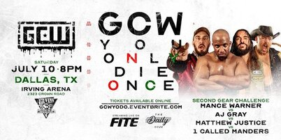 GCW You Only Die Once 2021