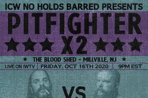 ICW No Holds Barred Pitfighter X2