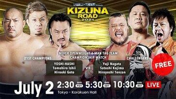 NJPW Kizuna Road 2021 Day 12