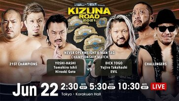 NJPW Kizuna Road 2021 Day 6