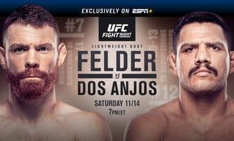 UFC Fight Night 183 Felder vs Dos Anjos