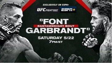 UFC Fight Night Font vs Garbrandt