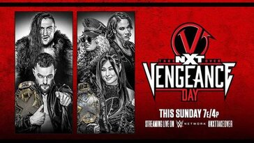WWE NXT TakeOver Vengeance Day 2021