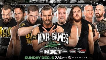 Watch WWE NXT TakeOver WarGames 2020
